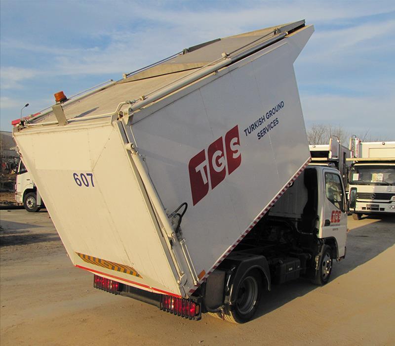 MGT Kamyon Üstü Çöp Aracı