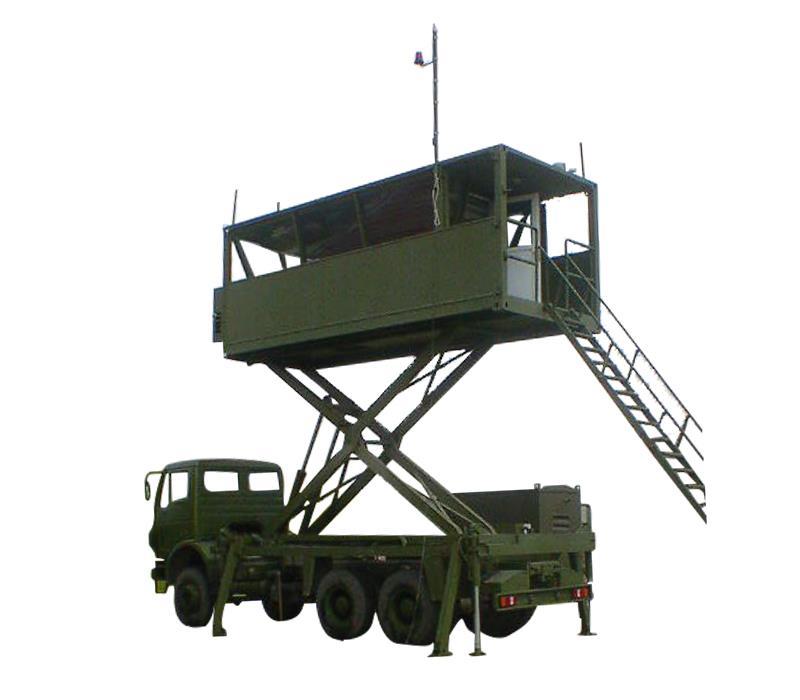 Kamyon Üstü Hava Trafik Kontrol Kulesi